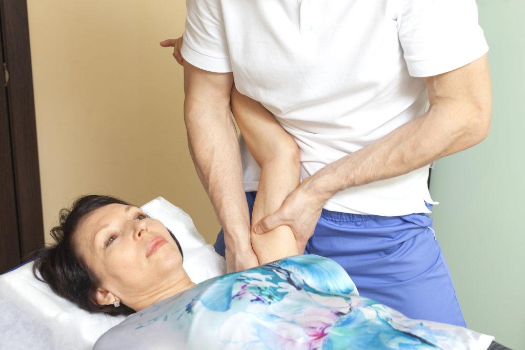 мобилизация плеча